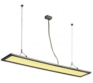 I-PENDANT PRO LED PANEL светильник подвесной с LED 39Вт, 4000K, 3450lm, серебристый