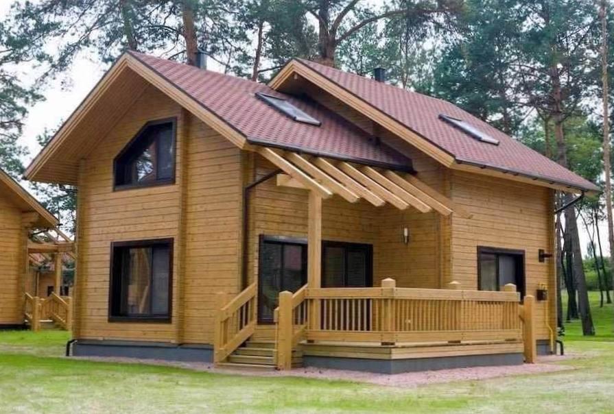 Какой тип бруса применяют при строительстве домов
